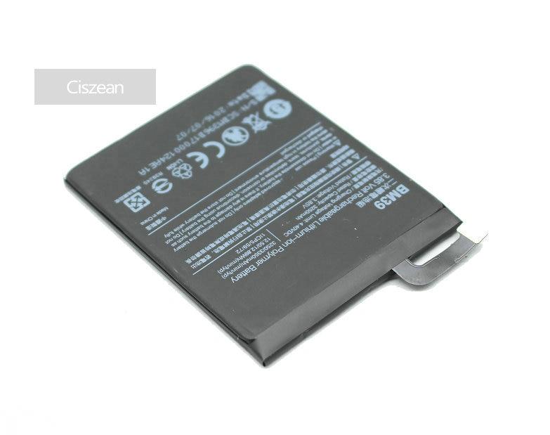 Ciszean Cell-Phone-Battery Xiao Mi Smart Mi6 3250mah For Mobile High-Capacity BM39 MIUI