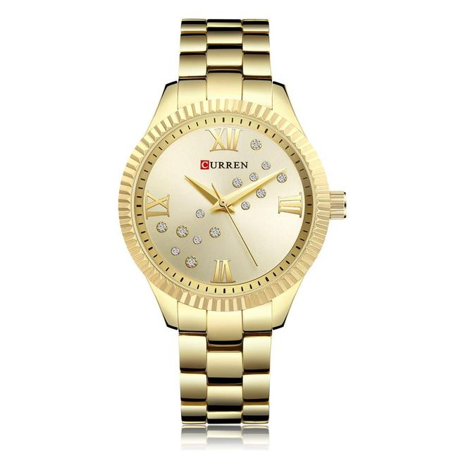 Для женщин смотреть новый кварцевые Лидирующий бренд Роскошные модные Наручные часы дамы подарок для леди