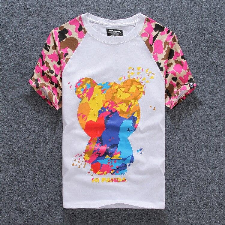 Summer Style HI PANDA Balr T shirt Men, Hollisticly Camisa