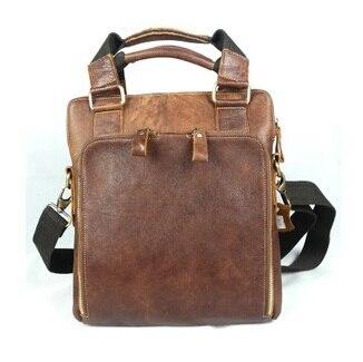 100 Guaranteed First Layer Real Genuine Leather Men Messenger Bags Cowhide Shoulder Bag Men Travel Bags