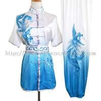 Chinese wushu uniform Kungfu clothing Martial arts suit taolu clothes changquan outfit for men women girl boy kids adults