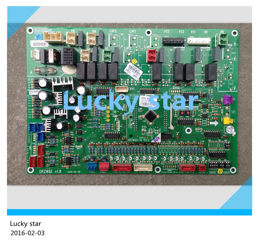 100% new for Gree Air conditioning computer board circuit board 30220025 WZCB31 GMV-PD400W/NaB good working цена