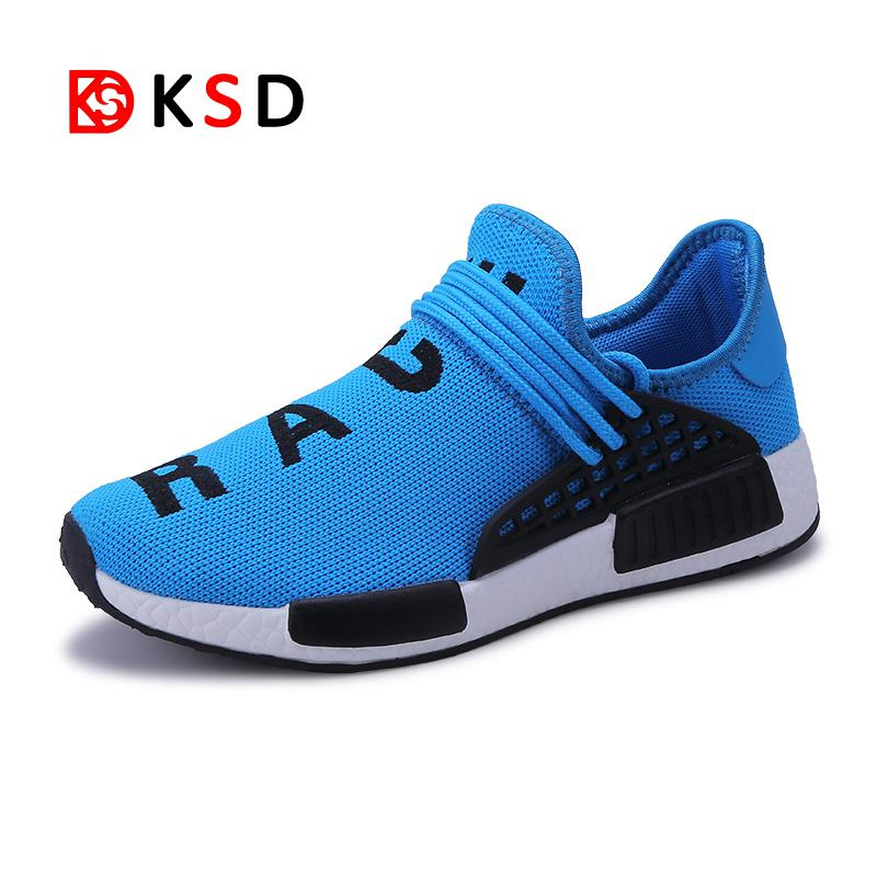 Female Male 2018 Light Running Shoes Breathable Soft Sneakers Comfort Women Men Sports Footwears Jogging Walking Athletic Shoes