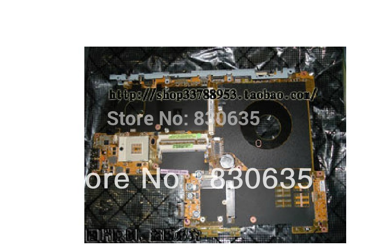 N80VR motherboard tested by system LAPTOP CASE