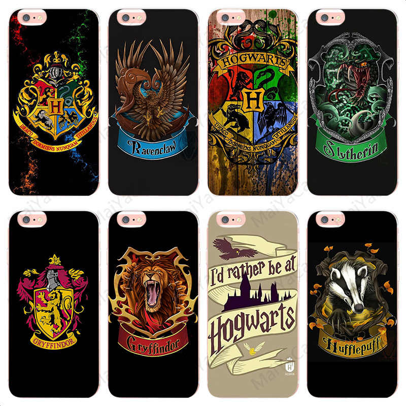 4b3dabf38a17b Detail Feedback Questions about MaiYaCa Harry potter Gryffindor Hufflepuff  Ravenclaw Slytherin for iphone 7plus For iphone 5 5s 5c SE And 6s 7 8 Phone  case ...