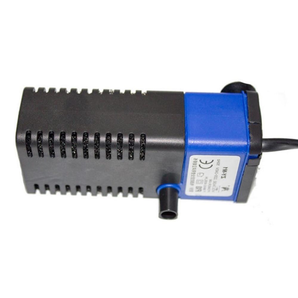 Mini Multi-function 3 In 1 Aquarium Internal Oxygenation Increaser Filter 4W Fish Tank Submersible Pump Spray Water Purifier