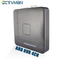 AHD DVR 4 Channel Hybrid HVR NVR Mini CCTV DVRs H 264 ONVIF HDMI Cloud Security