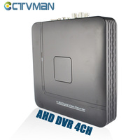 AHD DVR 4 Channel Hybrid HVR NVR Mini CCTV DVRs H 264 ONVIF HDMI Cloud Security