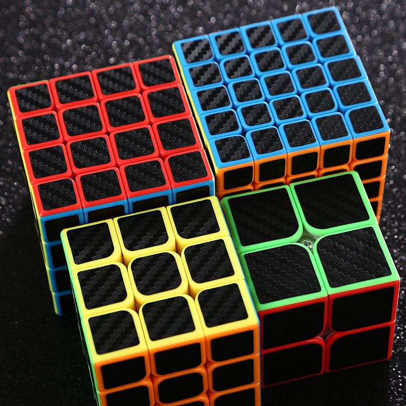 2x2x2 3x3x3 4x4x4 5x5x5 Professonal Magic Cube Smooth Competition Speed Twist Puzzle Cube For Kid Brain Cogitation Training Toys