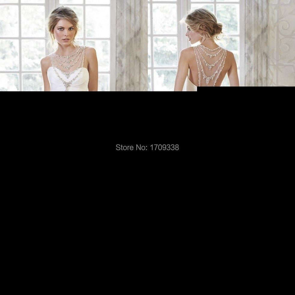 c868df8744 Lila azul real de largo equipada Corset vestido de fiesta con cuentas  cabestro 2016 nueva Sexy abrir volver vestidos de noche en Vestidos de  baile de Bodas ...