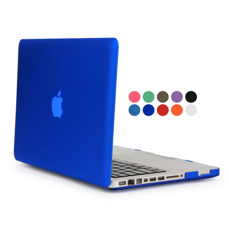 for apple mac book pro 13 inch laptop protective case transparent frosted cover for macbook 13 pro no retina display