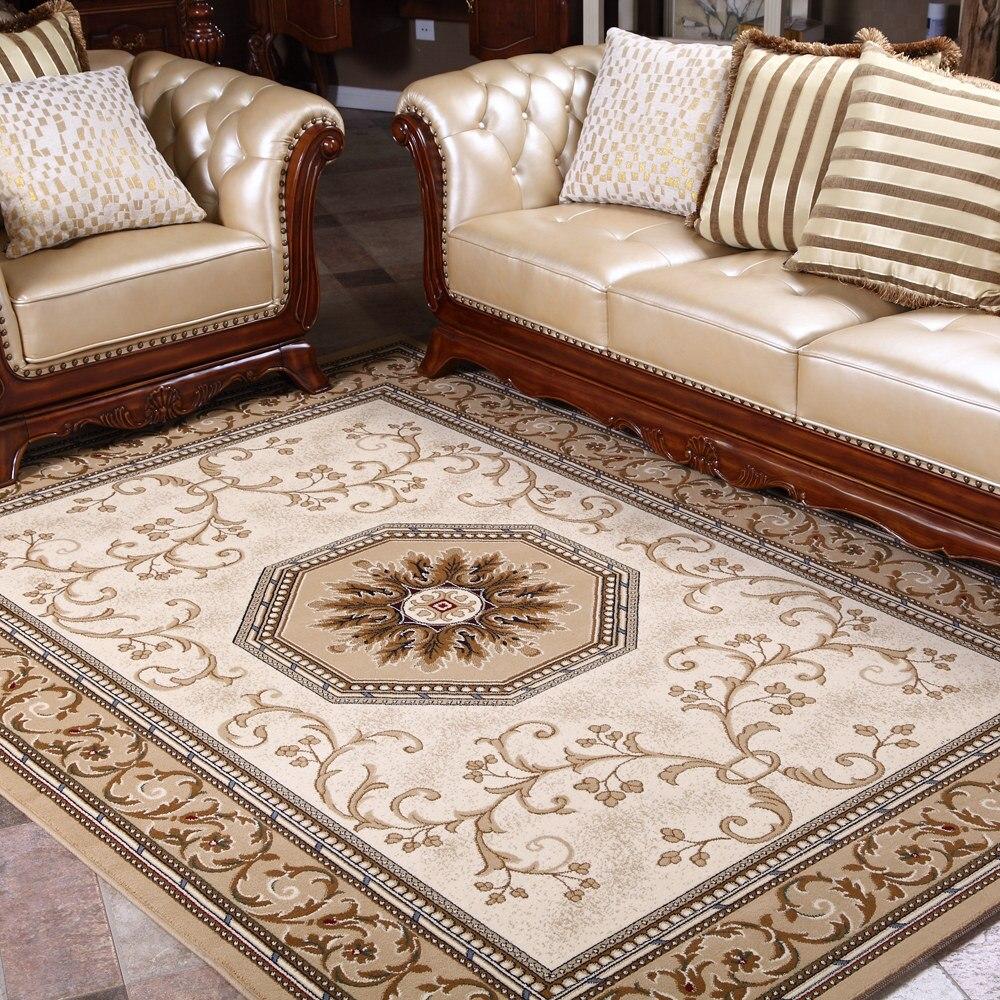 Мода американский стиль Новая классическая деревенский китайский стиль диван, журнальный столик несущей ковер