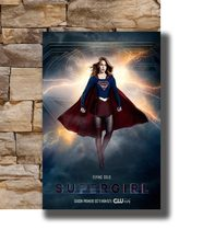 Art Poster New Supergirl Season 3 TV Poster 2018 Melissa Benoist Light Canvas Wall 14x21 20x30 24x36In N1219(China)