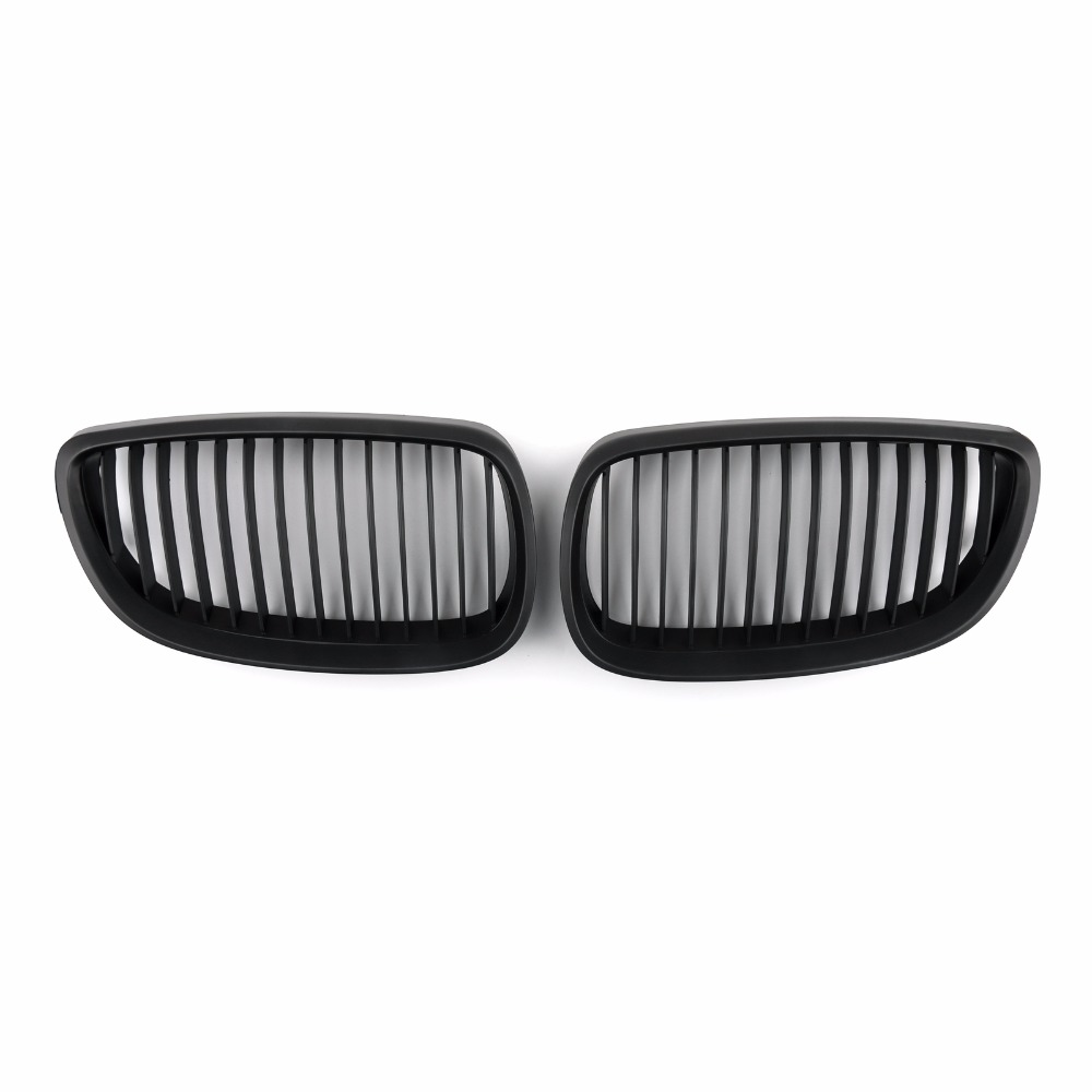 Areyourshop Car Kidney Grille Grill Mesh For BMW E92 E93 2DR LCI 2006-2010 ABS plastic Car Styling Covers Grille car front bumper mesh grille around trim racing grills 2013 2016 for ford ecosport quality stainless steel