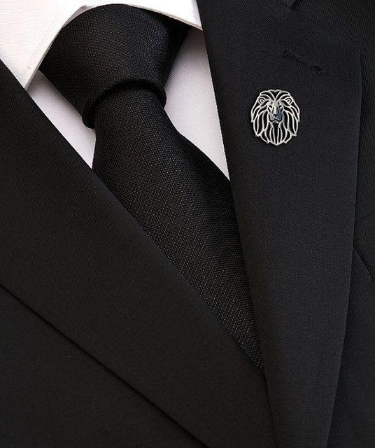 Купить mdogm 2020 броши и булавки в виде льва пальто костюма металла