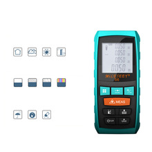 Mileseey Rangefinder S6 40M 60M 80M 100M Laser Distance Meter Blue Digital Range Finder Area/Volume Laser Measuring Instrument 100m 328ft laser rangefinder digital laser distance meter handheld range finder area volume measurement level bubble