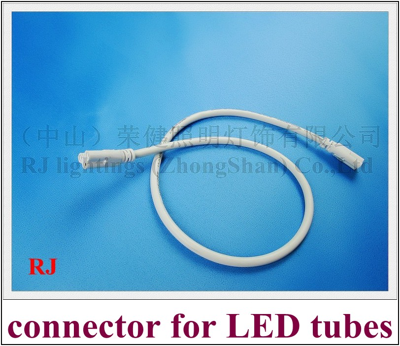 general connector cable wire interconnector for integrated LED tube and other LED lighting 50CM 3 pin