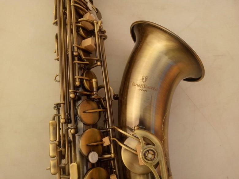 YANAGISAWA T-992 Sassofono Tenore Strumento Musicale In Ottone Antico Superficie di Rame Tono Bb Sax Regalo Di Natale Con Il Caso Boccaglio