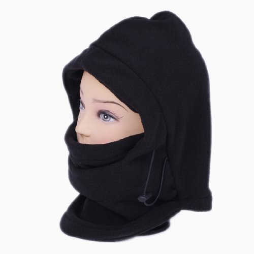 10x 2017 SumDirect 6 in 1 Thermal Hat Skullies Wind Stopper Face Mask Caps Neck Warmer