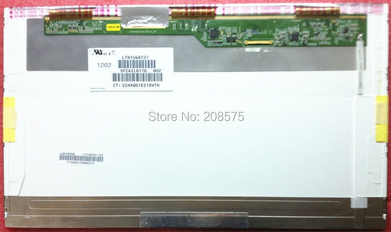 Free Shipping LTN156AT27 LP156WH4 N156BGE-L21 B156XTN02 B156XW02 LTN156AT02 LTN156AT24 15.6''inch Display Laptop Screen Pancel недорого