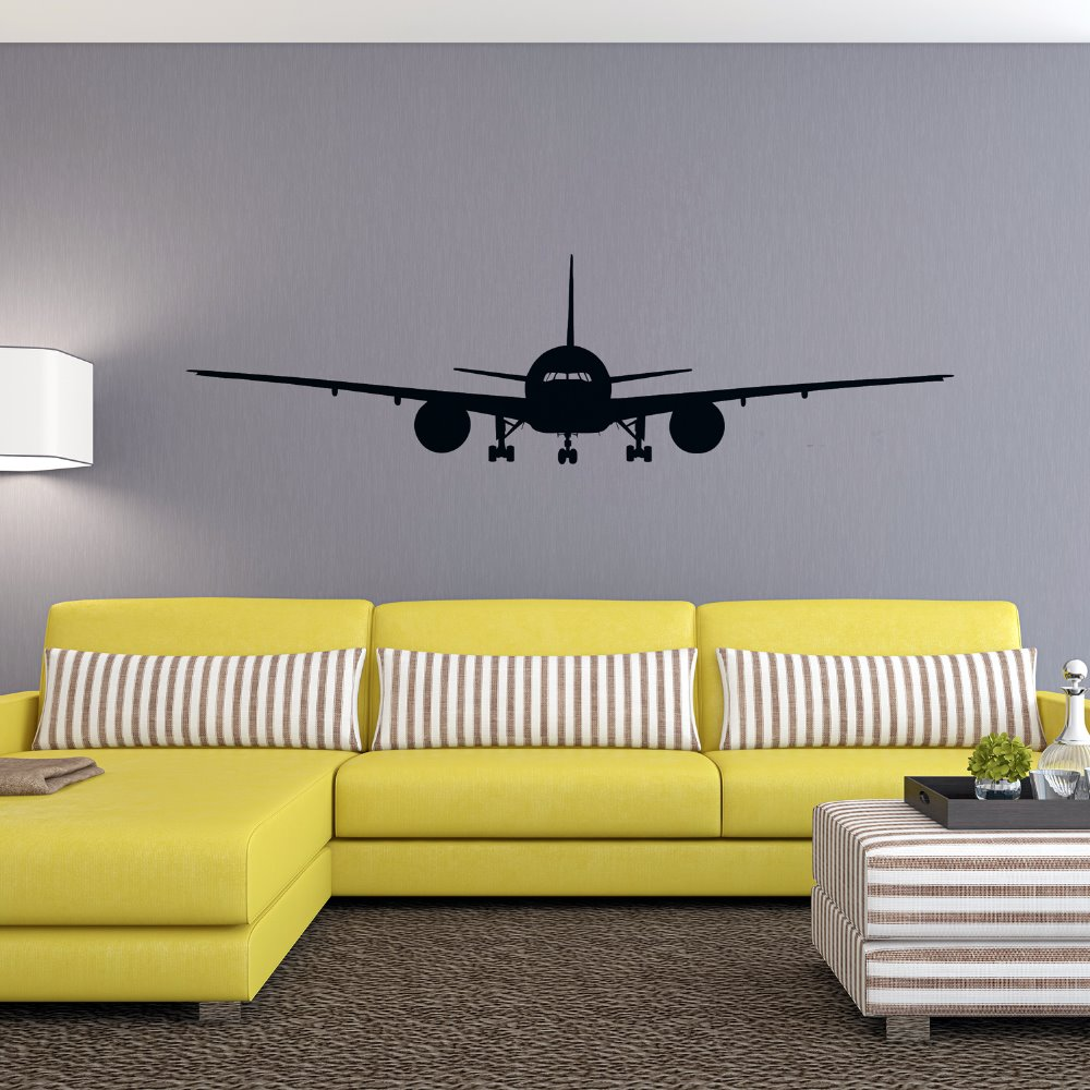 4028 3D Airplane Wall Stickers Muraux Wall Decor Airplane Wall Art ...