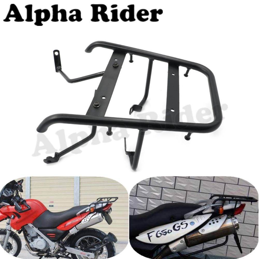 Motorcycle Rear Detachable Luggage Rack Support Holder Saddlebag Cargo Shelf Bracket for BMW F650GS 2000-2008 F650CS 2001-2005