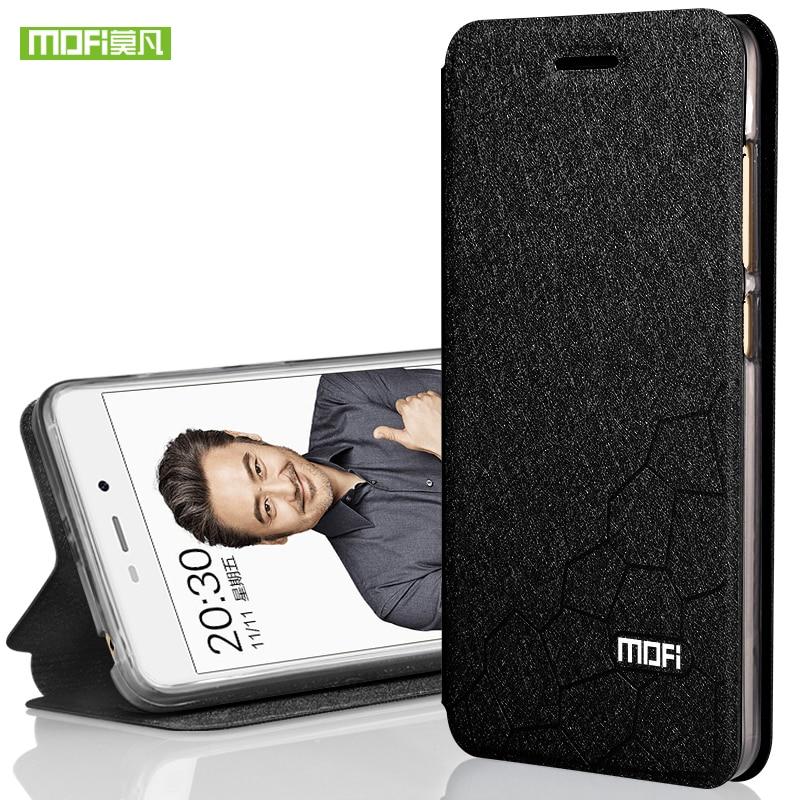 Xiaomi redmi 4X case 5.0 cover silicone TPU flip leather hard cover original Mofi Xiomi redmi 4X case aluminium metal fundas