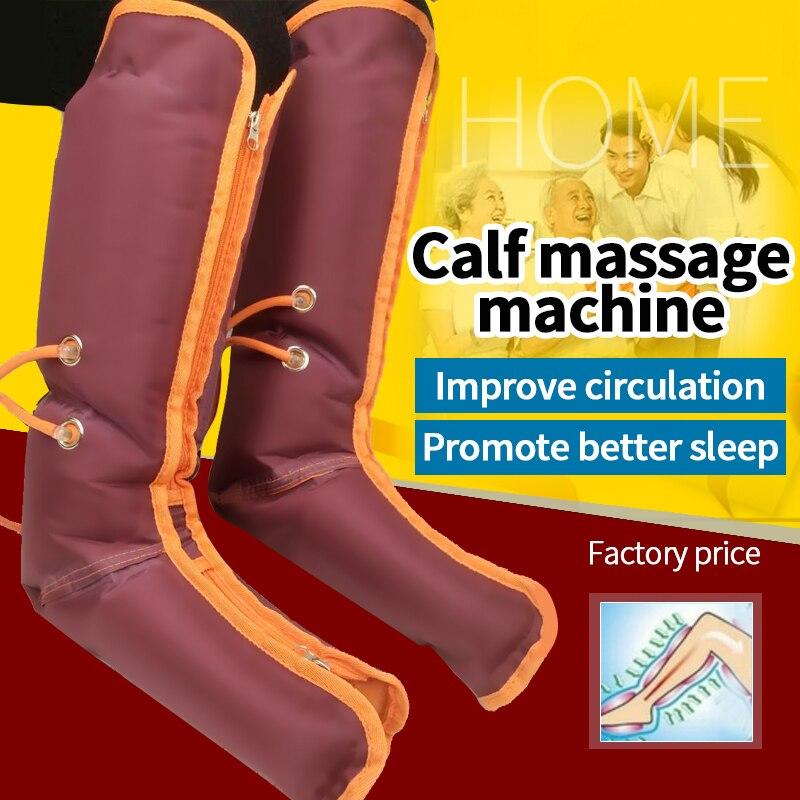 الهواء ضغط الساق يلتف منتظم مدلك الذراع الخصر القدم الكاحلين العجل العلاج الدموية الرعاية الصحية ضغط جهاز تدليك للساق-في التدليك والاسترخاء من الجمال والصحة على  مجموعة 2