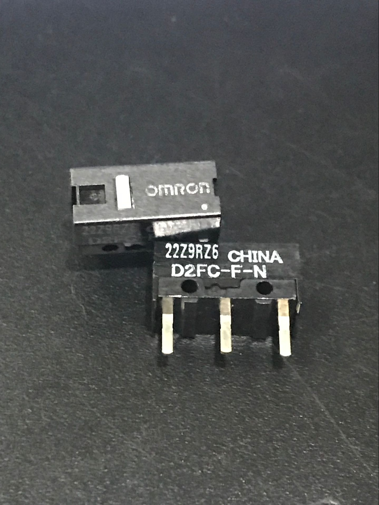 5PCS/LOT New Authentic OMRON Mouse Micro Switch D2FC-F-N Mouse Button Fretting D2FC-F-7N [zob] 100 new original authentic omron omron level switch 61f gp n ac220v 2pcs lot