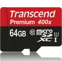 Genuine Original Transcend 16GB 32GB 64GB MicroSD MicroSDHC MicroSDXC Micro SD SDHC SDXC Card Class 10