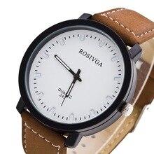 Relogio Masculino New Brand Fashion Quartz Watch Men Sports Leather Strap Watches Clock Casual Wristwatches zegarki meskie 2018