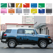 car sticker side body mountains styling soor graphic vinyl accessories decal custom for toyota FJ CRUISER 2006-2018