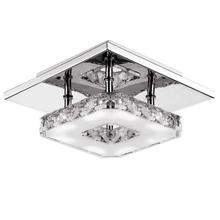 Потолочные светильники Крытый кристалл освещение светодиодный настольная лампа современный светодиодный потолочный светильник для гостиной столовая для спальни, дома украшения