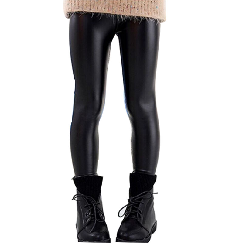 Compare Prices on Skinny Black Kid Leather Pants Girl Legging ...