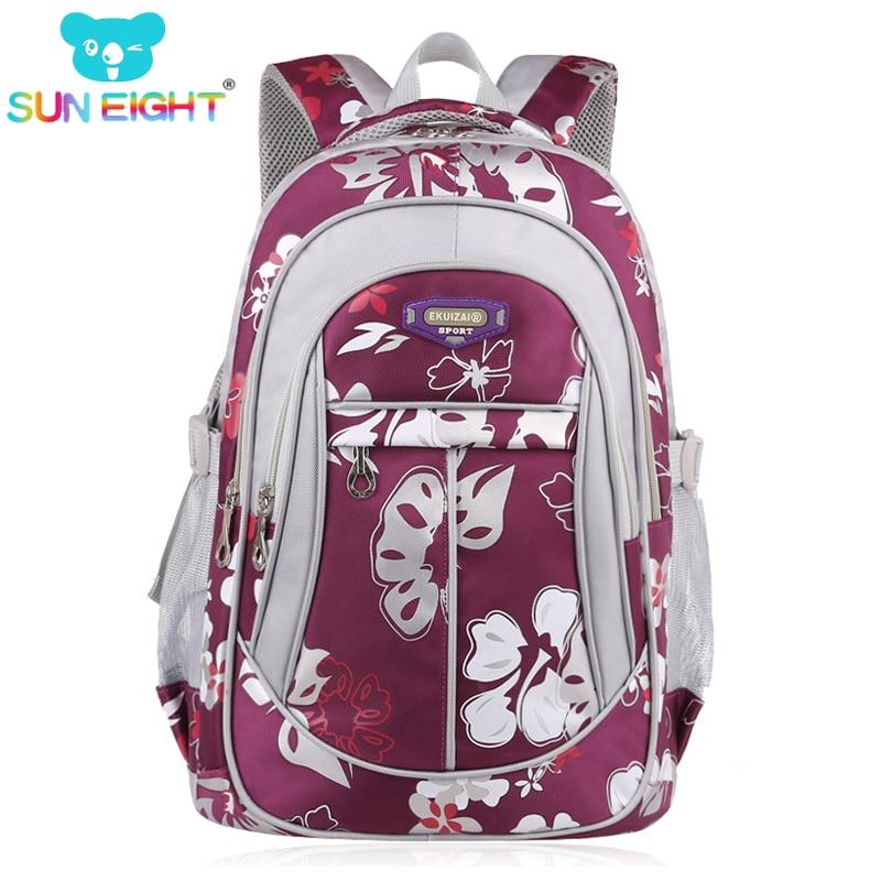 купить Zipper Large Capacity School Bags for Girls Brand Women Backpack Cheap Shoulder Bag Wholesale Kids Backpacks Fashion по цене 1013.16 рублей