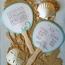 100Pcs Wood Party Decor Home Supplies Fan Handles Toy DIY Ice Cream Making Kid Handmade Blank Craft Stick Wavy Wedding