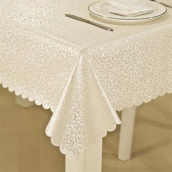 De alta calidad resistente al agua y al aceite mantel con exquisita flores decoración del hogar, cocina paño de mesa rectangular de la cubierta de la Mesa