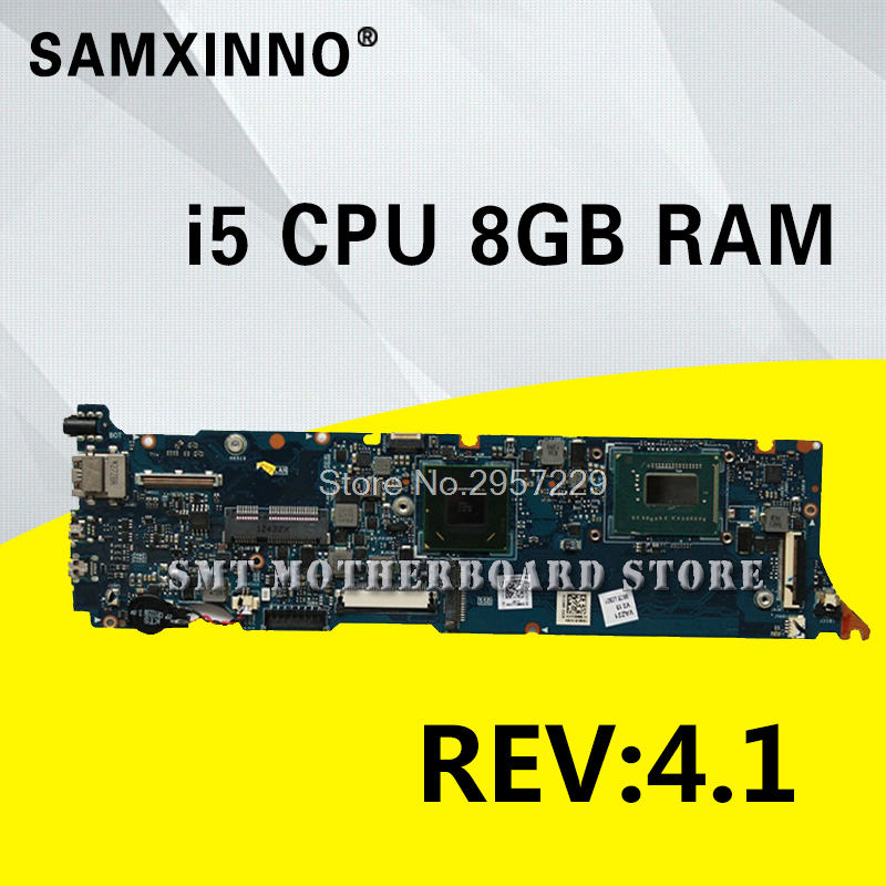 UX31A Motherboard REV2.0 i5-8G RAM For ASUS UX31A UX31A2 laptop Motherboard UX31A Mainboard UX31A Motherboard test 100% OK original zenbook for asus ux31a laptop motherboard ux31a rev2 0 mainboard processor i7 4g memory 100