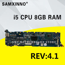 UX31A Motherboard REV2 0 i5 8G RAM For ASUS UX31A UX31A2 laptop Motherboard UX31A Mainboard UX31A