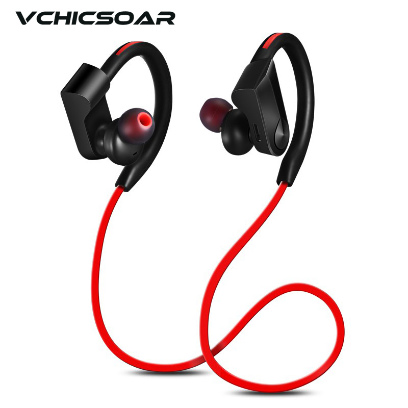 VCHICSOAR Sport Bluetooth Earphone Wireless Bluetooth 4.1 Stereo Headset Super Bass Earbuds Earphones with Mic for iPhone xiaomi picun h6 sport running bluetooth headset wireless earphones stereo music earbuds with mic headset for iphone xiaomi huawei