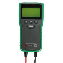 12 В/24 В цифровой автомобильного аккумулятора нагрузки тестер анализатор cca прочное качество батареи тестеры диапазон 30AH- 200AH