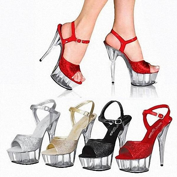 Cristal Amérique Poudre Flash Sandales Gros Super Fabricant Du Et Haute Cm Clubs Avec Chaussures En Europe Talons 15 U5qqO