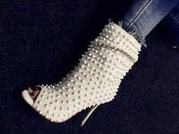 Летние женские босоножки женские замшевые заклепки Супер Высокий каблук 10 см обувь сандалии леди ходьба этапе модная обувь размер 34 43