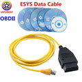 2020 Новый ESYS кабель для передачи данных для BWM Enet заглушка OBDII адаптер для BMW Enet Ethernet E-SYS ICOM кодирование для f-серия диагностический кабель