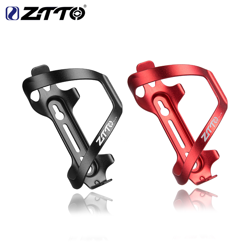 ZTTO MTB Ultralight Aluminum Alloy Bicycle Water Bottle Cage For Mountain Road Bike Cycling Bottle Holder Bicycle Accessories
