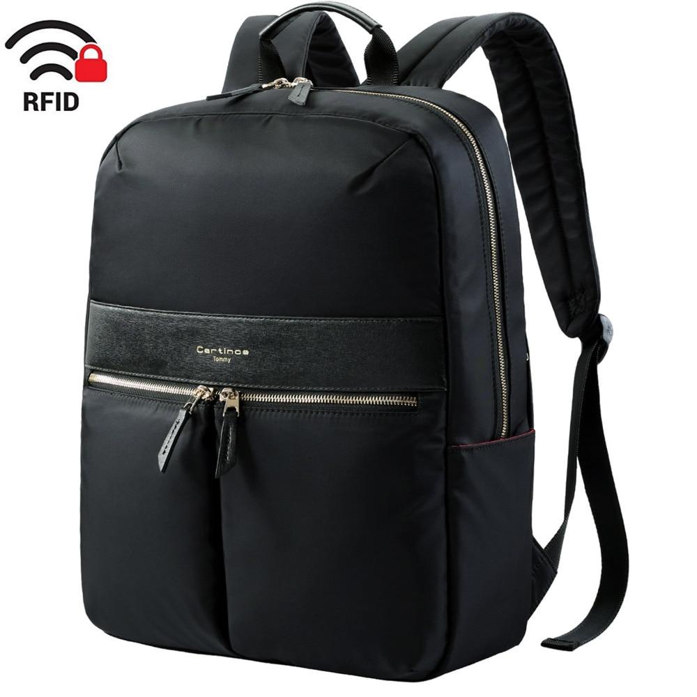 15 inch RFID Blocking Lightweight Backpack Business Travel Backpack College Daypack School Laptop bag for Teenage Men Women 15.6 xiaomi 90fun brand leisure daypack business waterproof backpack 14 laptop commute college school travel trip grey