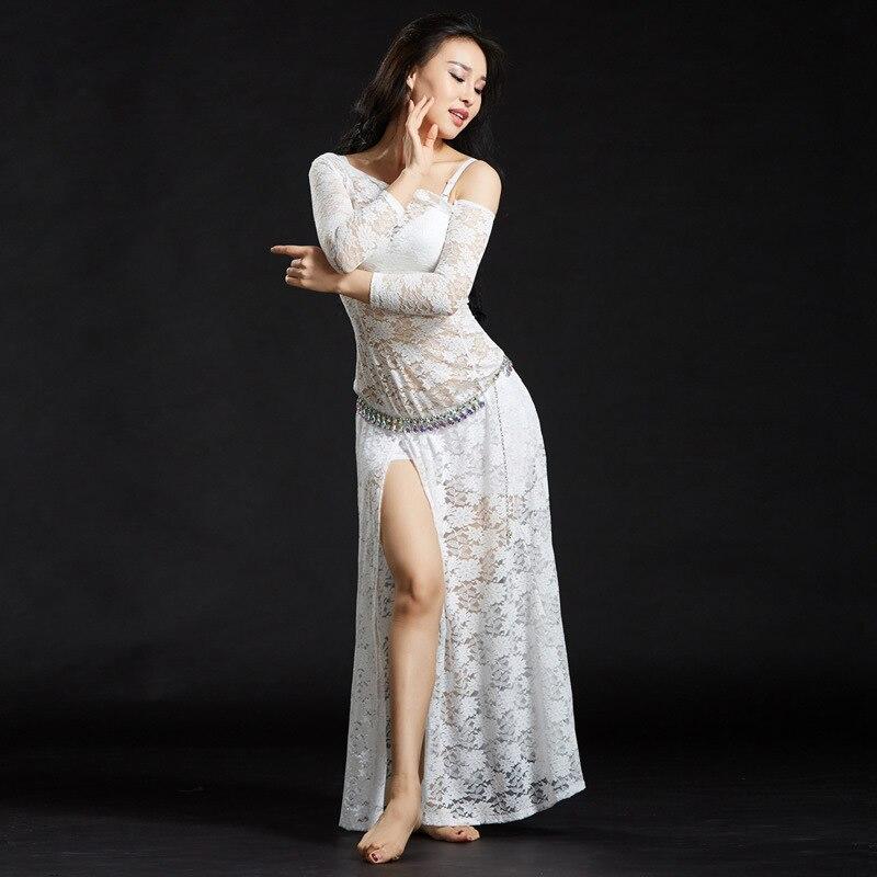 Image 4 - Женские кружевные платья с шортами, длинные платья для танца животаТанец живота    АлиЭкспресс