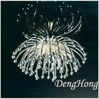 Novel Creative Blooming Flower Led Dia 42cm Ceiling Light Living Room Dining Room Bar Ktv Pub