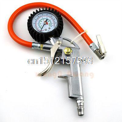 Tyre inflator Car Truck Bike Air Tire Pressure Dial Gauge Meter Compressor Tool tg105 digital car tire tyre air pressure gauge meter manometer barometers tester