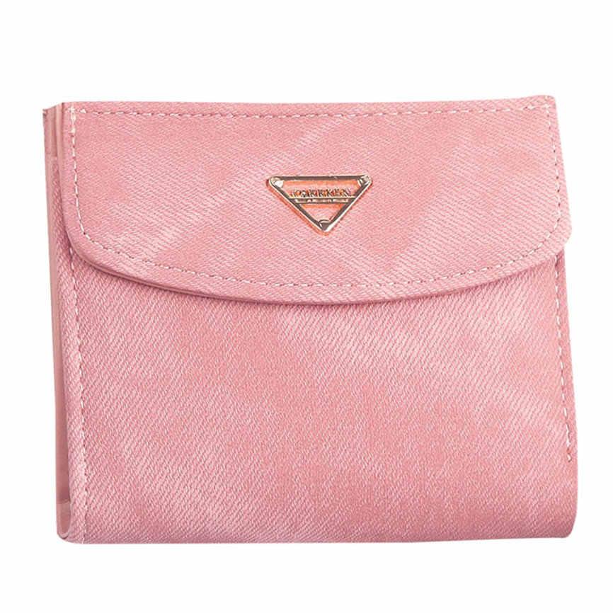 財布女性コイン PursShort 女性財布ミニ財布と財布ショート女性コイン財布クレジットカード Holde コイン財布女性 #35